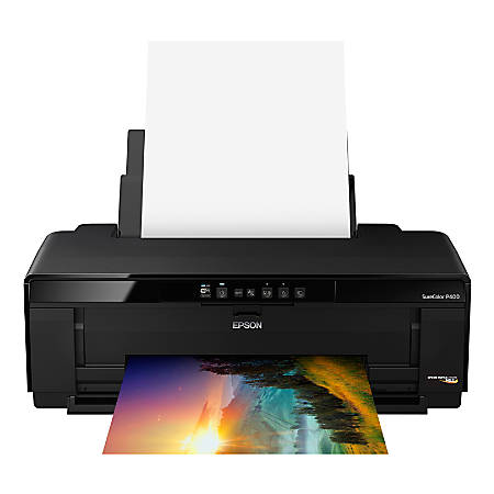 Epson® SureColor P400 Wireless Color Inkjet Wide Format Printer