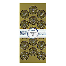 Geographics Embossed Award Seals 1 12