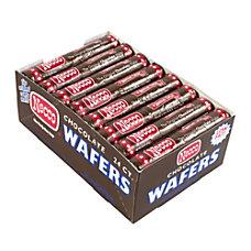 Necco Wafer Rolls 202 Oz Chocolate