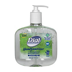 Dial Antibacterial Hand Sanitizers with Moisturizers
