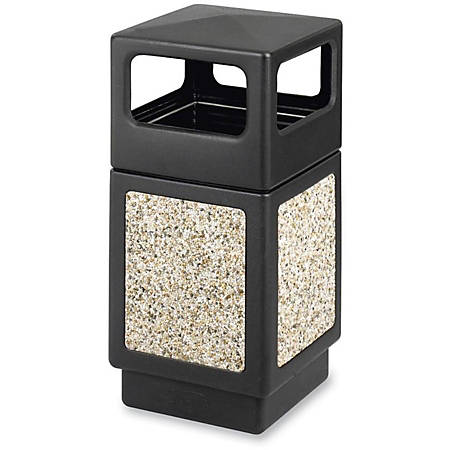 """Safco® Canmeleon™ Aggregate Panel Outdoor Receptacle, Side-Opening, 38 Gallons, 39 1/4""""H"""