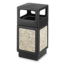 Safco Canmeleon Aggregate Panel Outdoor Receptacle