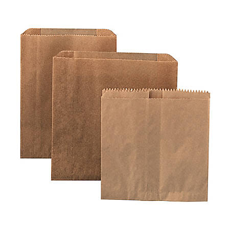 """Hospital Specialty Co. Waxed Paper Liners For Sanitary Napkin Disposal, 10 1/4""""H x 7 1/2""""W x 3 1/2""""D, Case Of 500"""