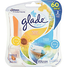 Glade Plug Ins Oil Refills Clean
