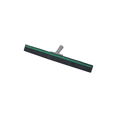 Unger Aquadozer Heavy Duty Floor Squeegee, 30 Inch Blade, Green/Black Rubber, Straight. Includes one 30 inch squeegee with a black and green rubber blade.