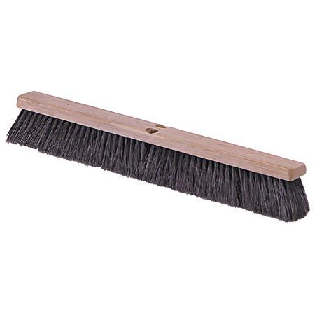 "Carlisle Hardwood Block Floor Sweep - 3"" Tampico Fiber Bristle - 1 Each"