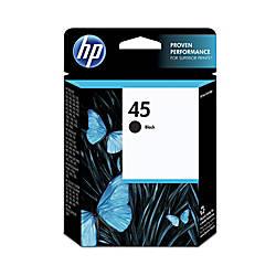 HP 45 Black Ink Cartridge 51645A