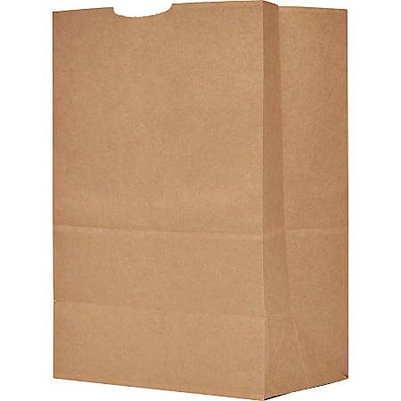 "The Bag Company General Grocery Kraft Paper Bags, 17"" x 12"" x 7"", Brown, Bundle Of 500"