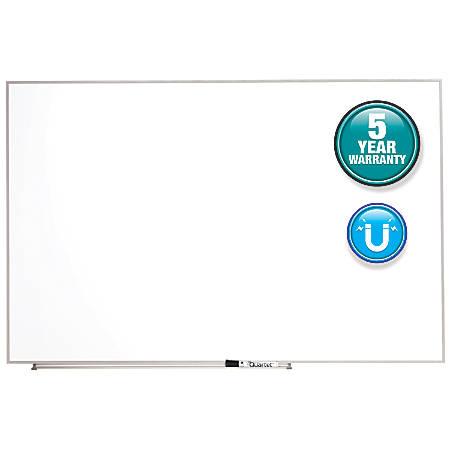"Quartet® Matrix® Magnetic Marker Dry-Erase Board, 48"" x 31"", White/Silver"