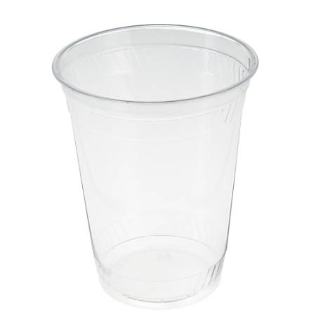 Fabri-Kal Greenware GC12 Cups, 12 Oz, Clear, Case Of 1,000