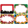 "Teacher Created Resources Superhero Name Tags, 3 1/2"" x 2 1/2"", Multicolor, Pack Of 180"