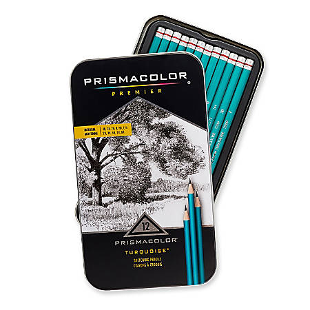 Prismacolor Turquoise Sketch Pencil Set Pack Of 12 by ...
