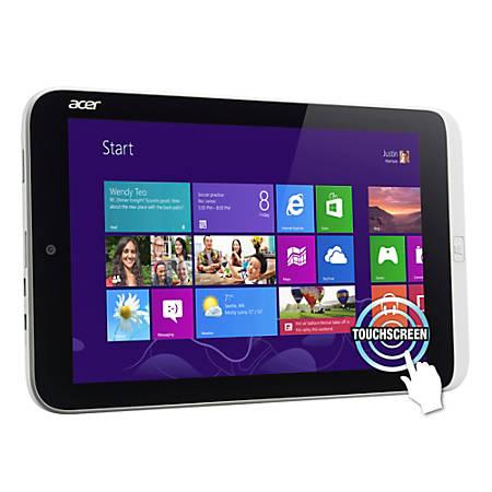 "Acer® Iconia Tablet, 8.1"" Screen, 2GB Memory, 32GB Storage, Windows® 8"