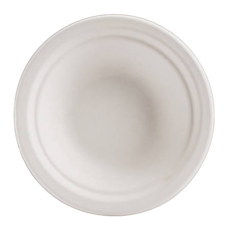 Chinet Classic Bowls, 12 Oz, 100% Recycled, White, 125 Bowls Per Pack, Case Of 8 Packs