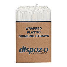 Dispozo Flex Straws 7 34 Translucent