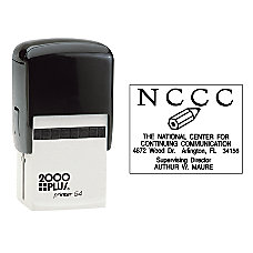 2000 PLUS Self Inking Stamp P54