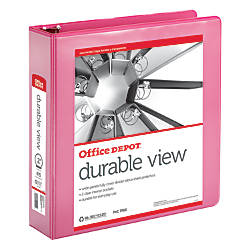 Office Depot Brand Round Ring View
