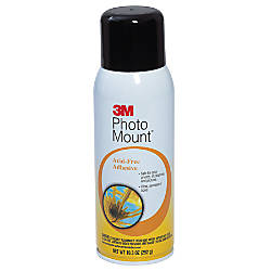 3M Photo Mount Adhesive Spray 1025