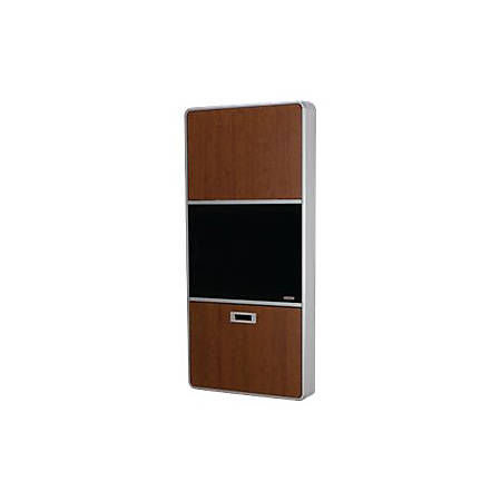 """Capsa Healthcare 423 Wall Cabinet Workstation - Pin Code Lock - Cabinet unit for LCD display / keyboard / mouse / CPU - medical - screen size: up to 24"""" - wall-mountable"""