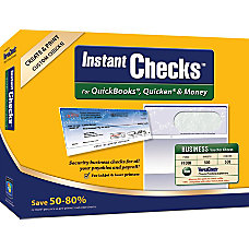 VersaCheck InstantChecks Form 1000 For QuickBooks