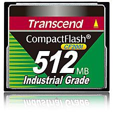 Transcend CF200I 512 MB CompactFlash 200x