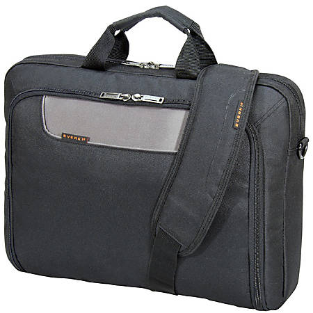 "Everki Advance Laptop Bag Briefcase For 17.3"" Laptops, Black"