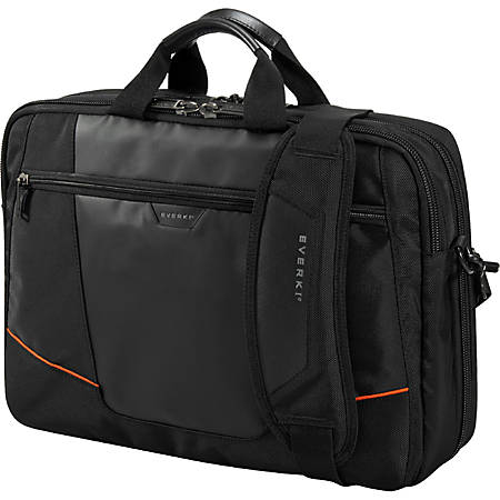 "Everki Flight Checkpoint Friendly Laptop Bag Briefcase For 16"" Laptops, Black"