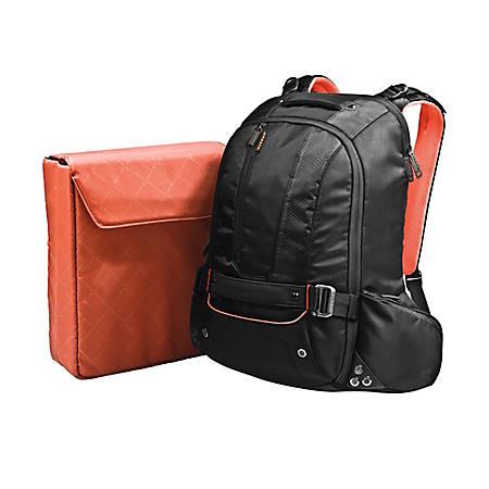 """Everki Beacon Laptop Backpack For 18"""" Laptops, Black"""