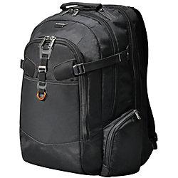 "Everki Titan Checkpoint Friendly Laptop Backpack For 18.4"" Laptops, Black"