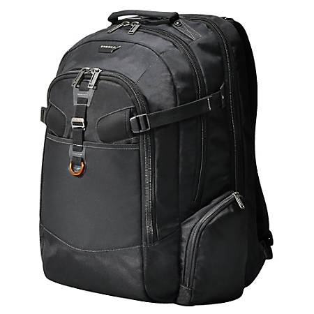 "Everki Titan Checkpoint Friendly Laptop Backpack For 18.4"" Laptops, Black"