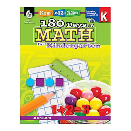 Shell Education 180 Days of Math Practice, Grade K