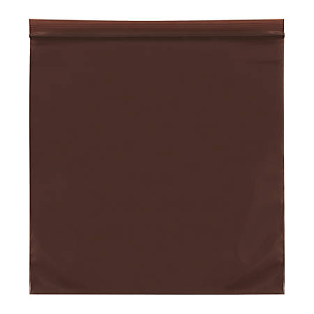 """Office Depot® Brand 3-Mil Reclosable UV Bags, 9"""" x 12"""", Amber, Case Of 1,000"""