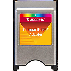 Transcend CompactFlash Adapter CompactFlash Type I