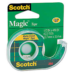 Scotch Magic Tape In Dispenser 12