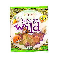 Emoji Lets Go Wild Gummy Sours