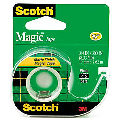Scotch Magic Tape In Dispenser 34