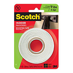 Scotch Indoor Mounting Tape 12 x