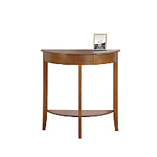 Monarch Specialties Console Table Crescent Single