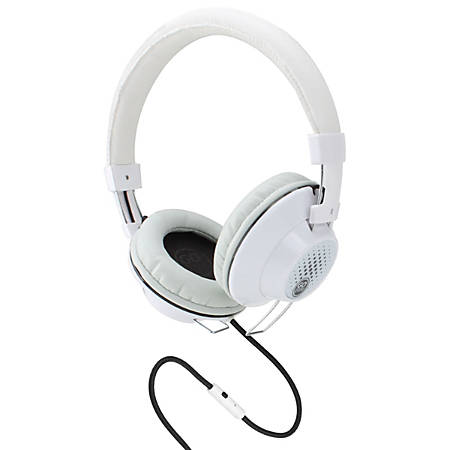 GOgroove AudioLUX OE Over-The-Ear Headphones, White