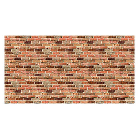 "Fadeless Reclaimed Brick Design Paper, 48"" x 50', Multicolor"