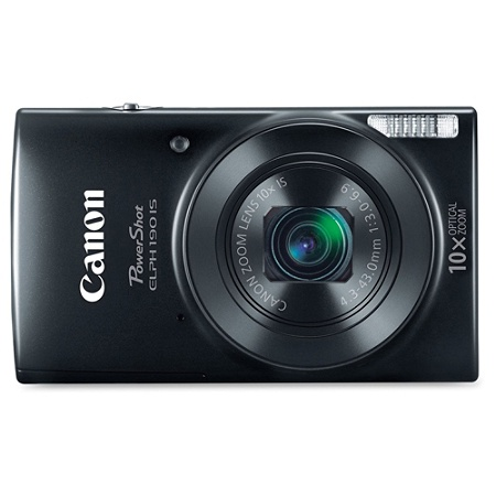 Canon PowerShot 190 IS 20 Megapixel Compact Camera Black By Office Depot OfficeMax