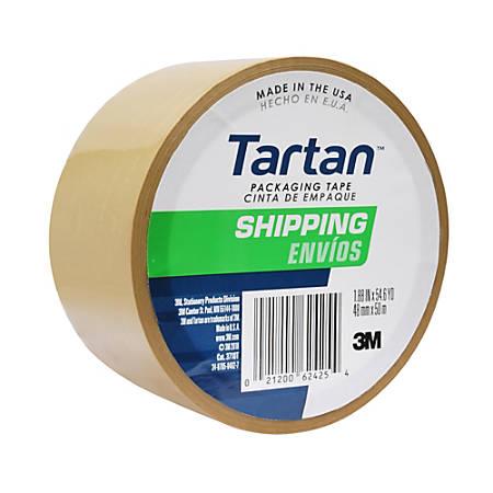 "3M™ Tartan™ 3710 General Purpose Packaging Tape, 3"" Core, 2"" x 55 Yd., Tan"