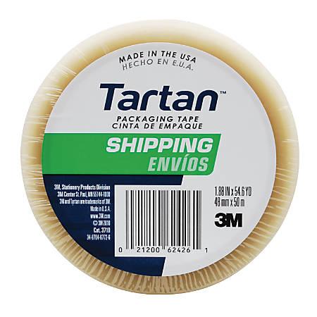 "3M™ Tartan™ 3710 General Purpose Packaging Tape, 3"" Core, 1 7/8"" x 54.6 Yd, Clear"