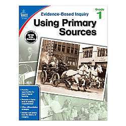 Carson Dellosa Using Primary Sources Workbook