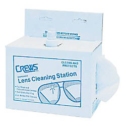 Spray Tissue Disposable Lens Cleaning Station