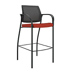 HON Ignition Caf Height Stool PoppyBlack