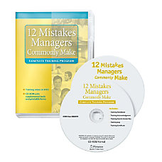 Workplace Media 12 Mistakes Managers Commonly