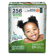 Seventh Generation Free Clear Baby Wipes