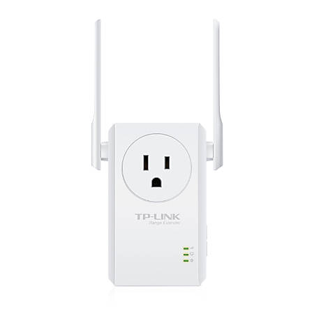 TP-Link® N300 Wireless Wi-Fi Range Extender with External Antennas, TL-WA860RE