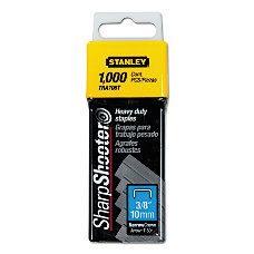 Bostitch SharpShooter Heavy Duty Staples 38